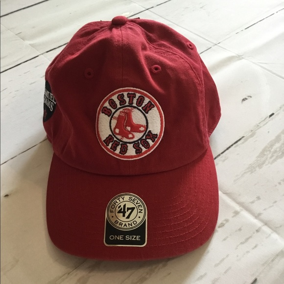 4d3d0ad0d 47 Accessories | Rare Sam Adams Boston Red Sox Cap | Poshmark